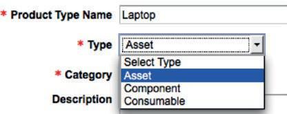 Вы можете создавать типы активов и классифицировать ваши продукты всего в два шага.