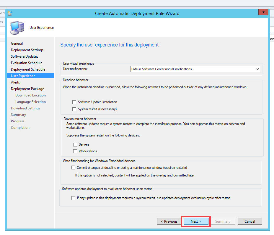 Configuring Automated Deployment Rule in SCCM l ManageEngine