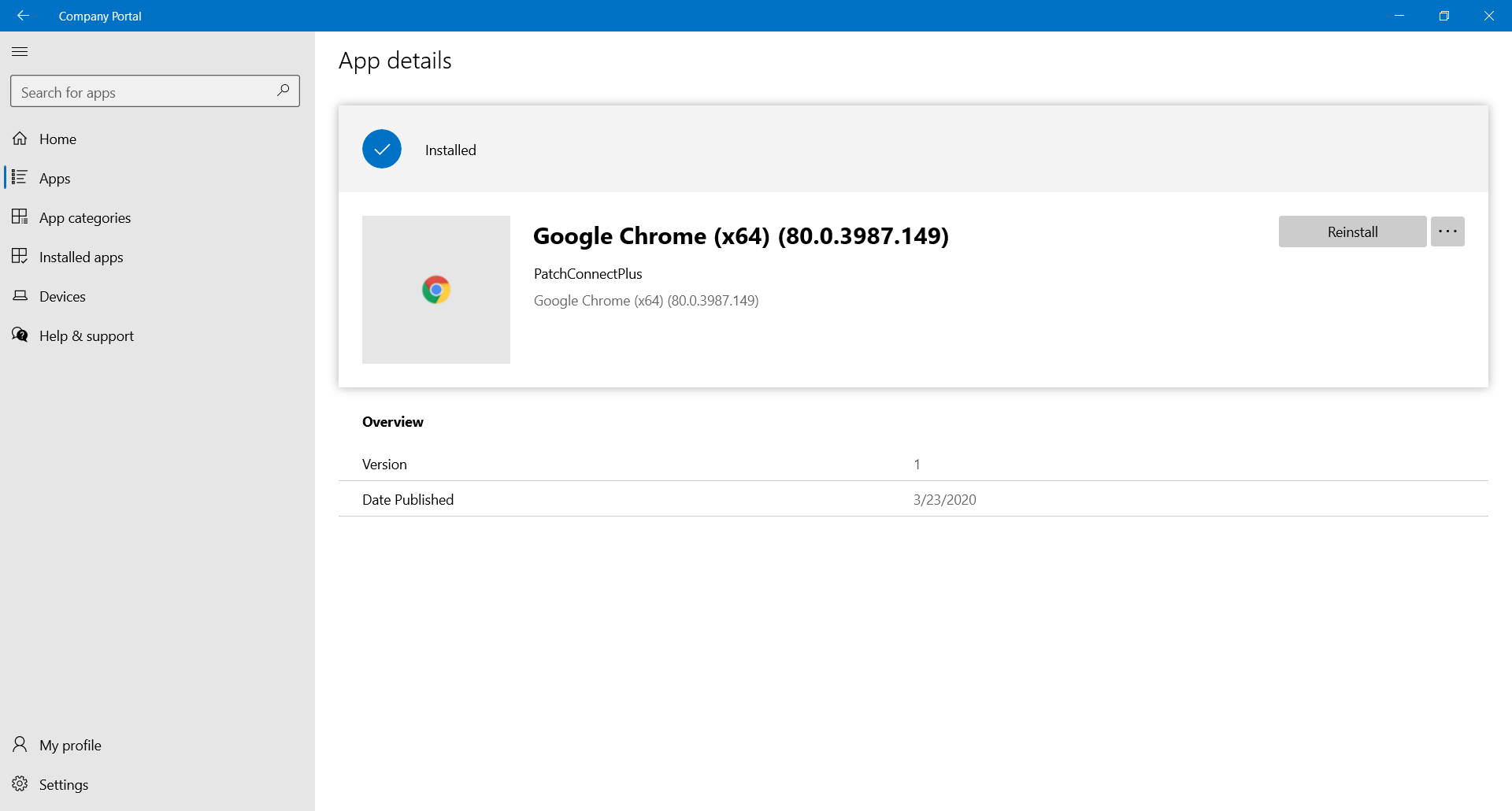 Deploy third party applications in Intune