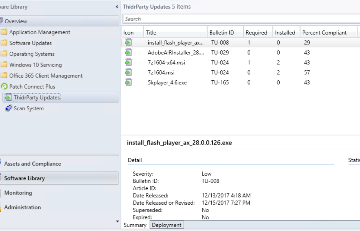 Native SCCM Plug-in