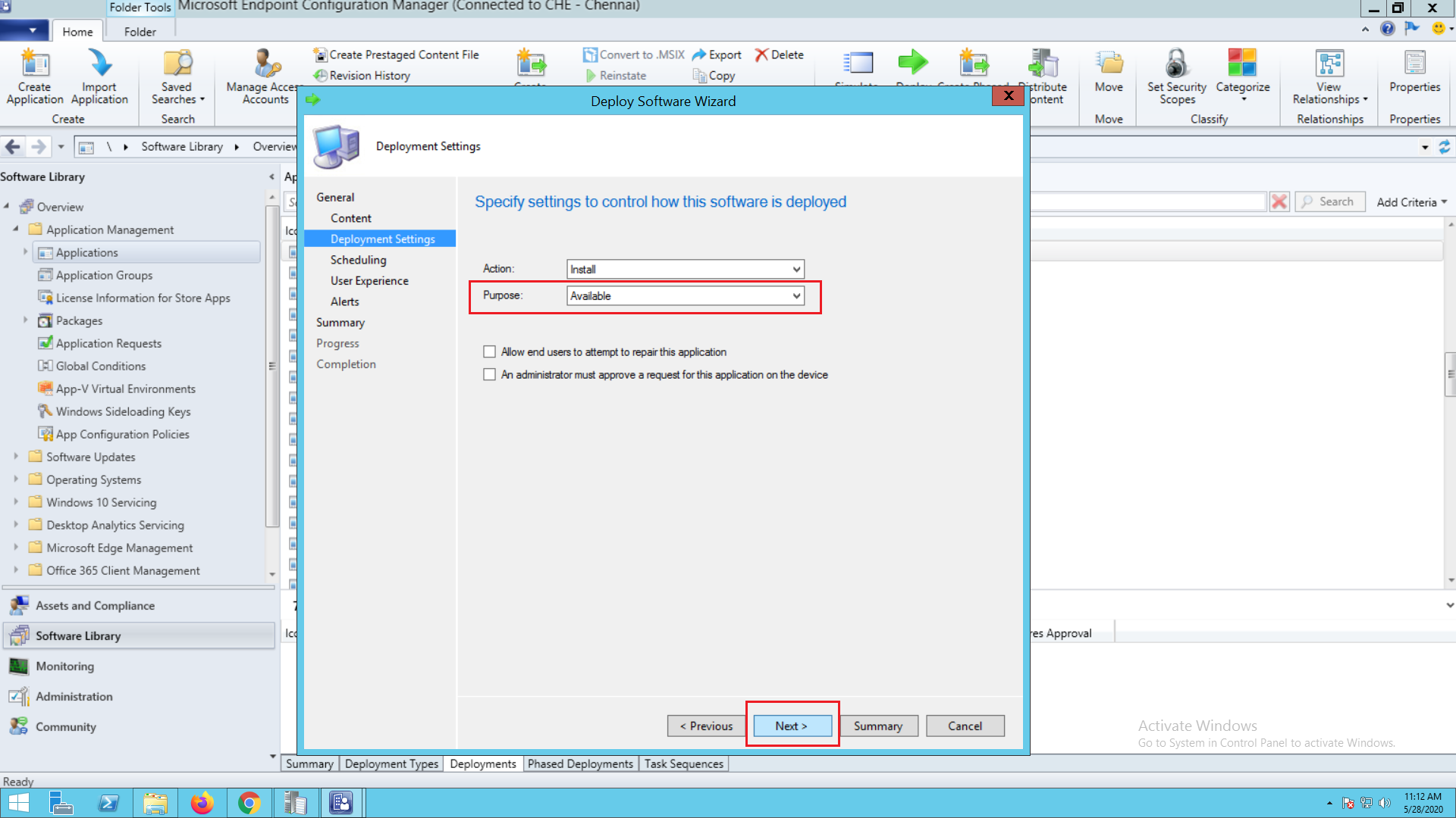 What is SCCM application deployment - ManageEngine Patch Connect Plus