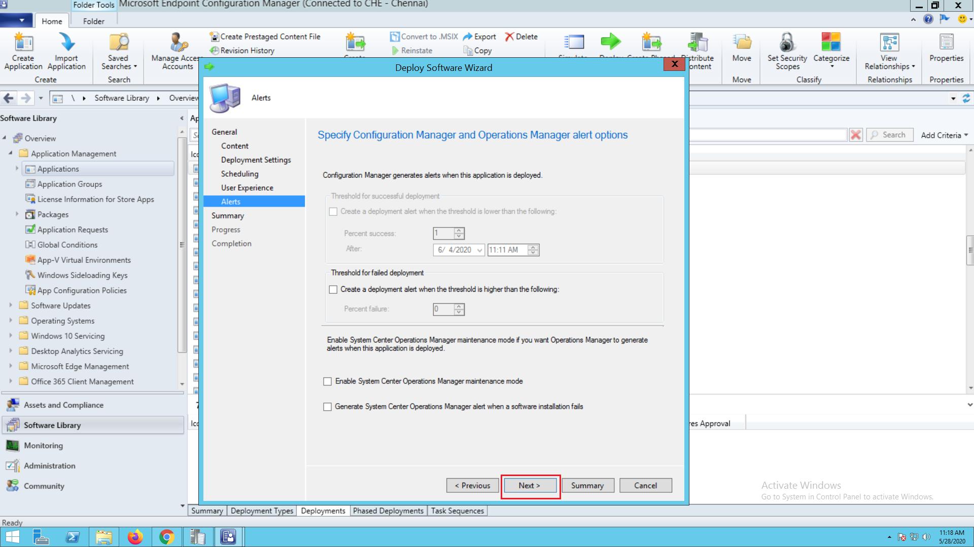 SCCM software deployment - ManageEngine Patch Connect Plus