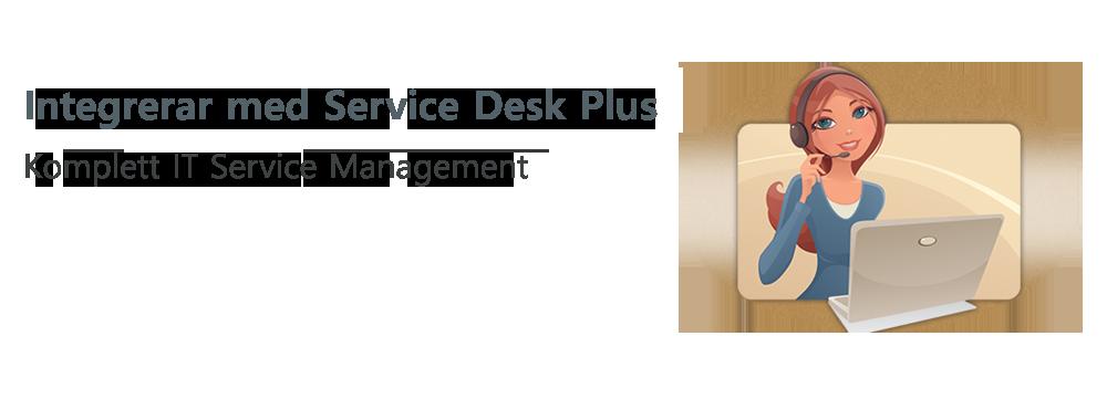 Integrerad hantering av stationära och mobila enheter för leverantörer av hanterade tjänster
