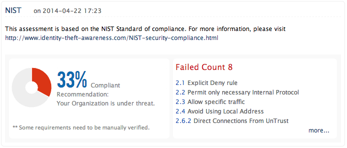 NIST-riktlinjer för brandväggar och brandväggspolicyer - ManageEngine Firewall Analyzer