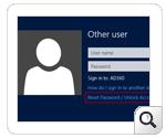 Self service password Windows GINA/Kimlik bilgisi Sağlayıcı: