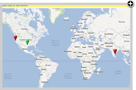 Google Network Maps