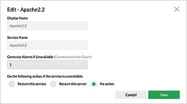 Windows 服務監視