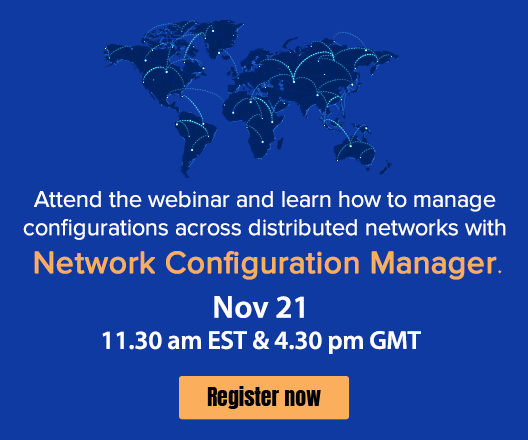 How to automate configuration change, backup| Network Configuration