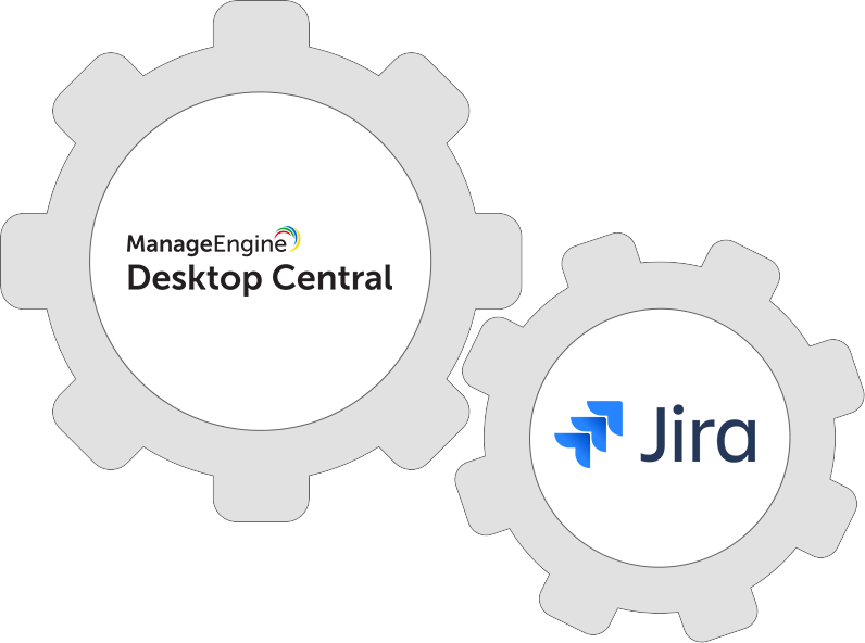 Integrate Desktop Central with Jira to eliminate endpoint issues.