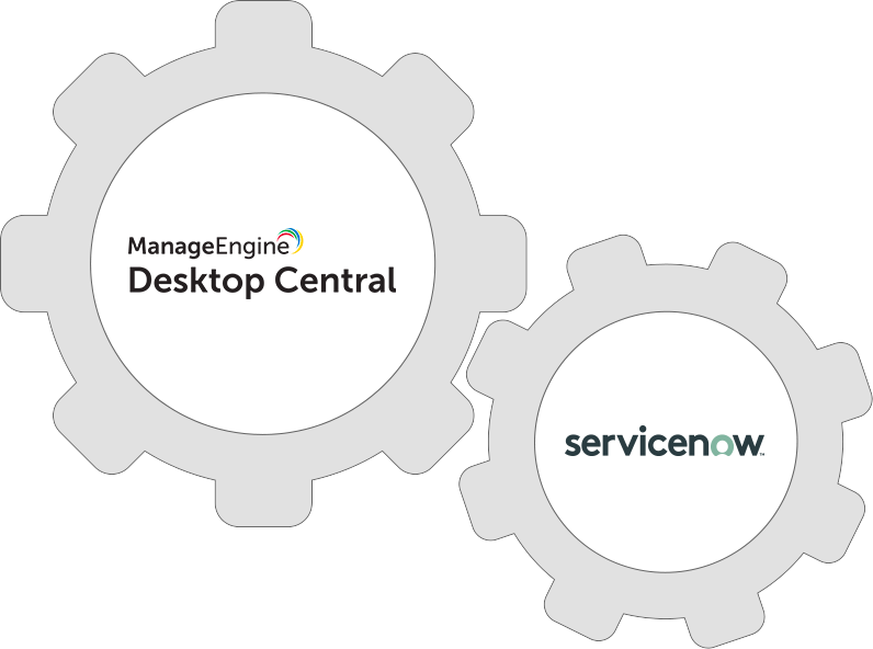 Integrate Desktop Central with Servicenow to elevate the service experience