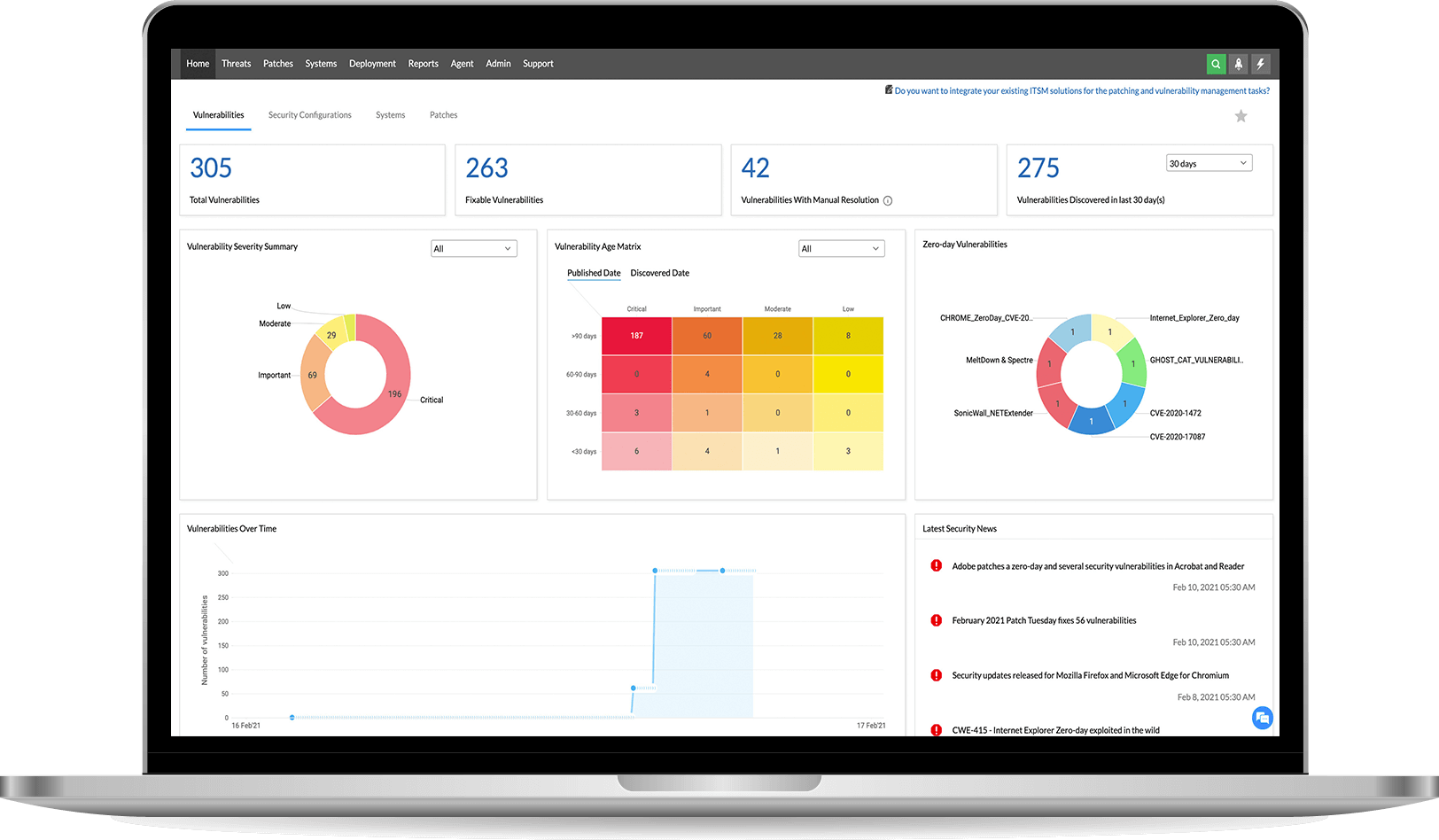 What is risk-based vulnerability management software? - ManageEngine Vulnerability Manager Plus