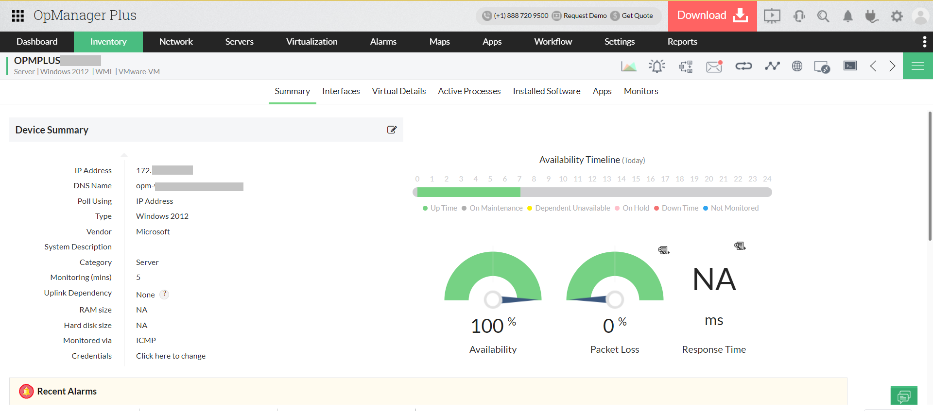 Enterprise Network Monitoring - ManageEngine OpManager Plus