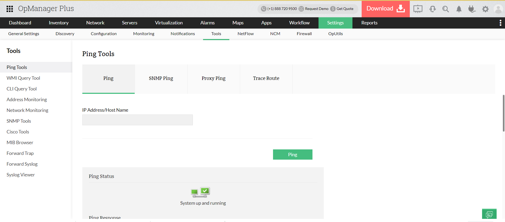 Enterprise Network Monitoring Software - ManageEngine OpManager Plus
