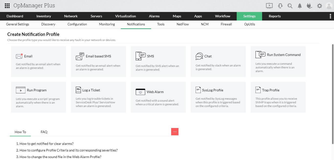 ITOM Platform - ManageEngine OpManager Plus