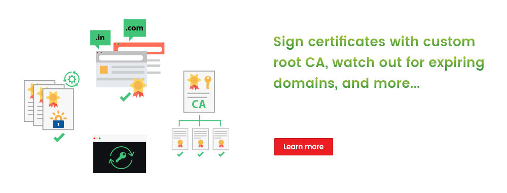 Sign certificates with custom root CA, watch out for expiring domains, and more...