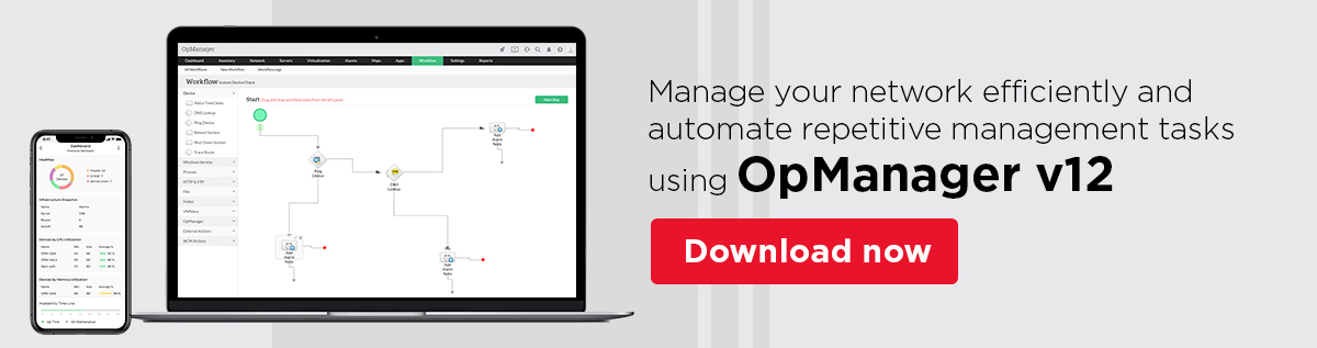Network Management - ManageEngine OpManager