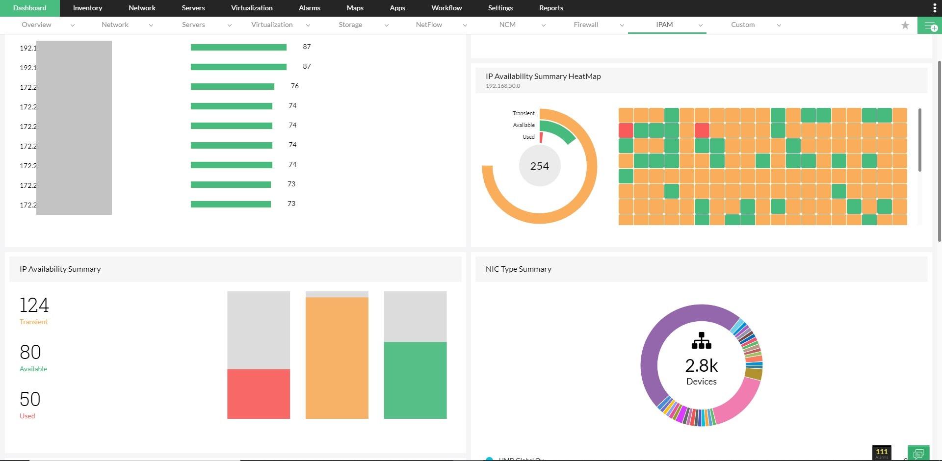 IP Address Management - ManageEngine OpManager