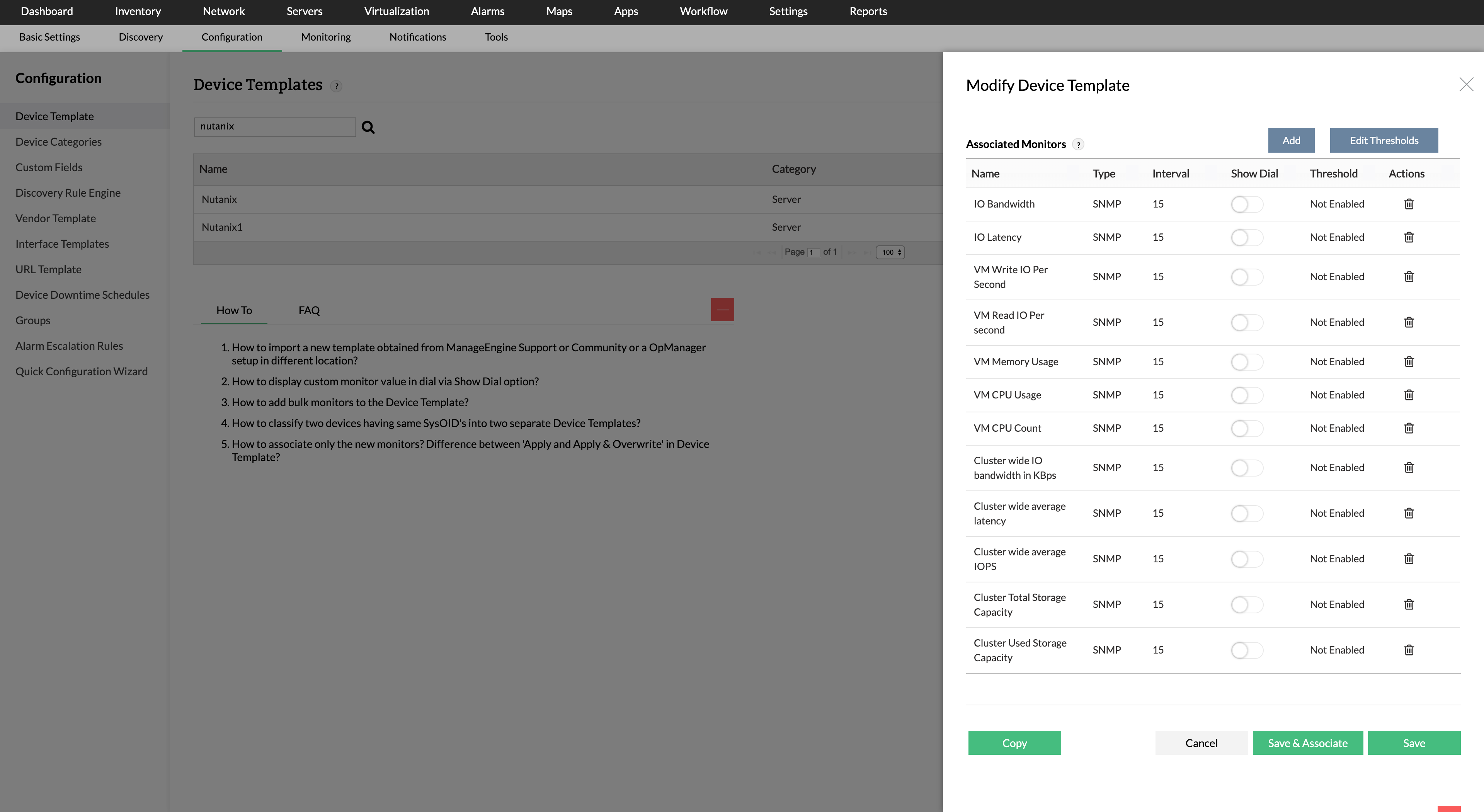 Nutanix Hyperconverged Infrastructure (HCI) Software - ManageEngine OpManager