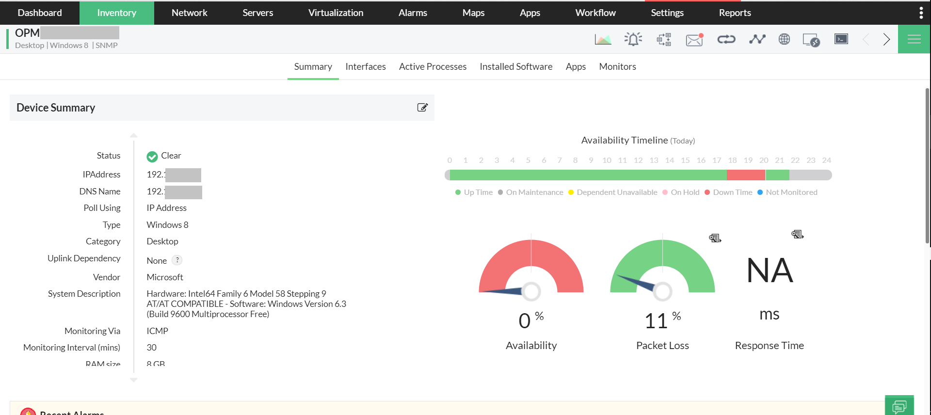 Enterprise Monitoring Tools - ManageEngine OpManager