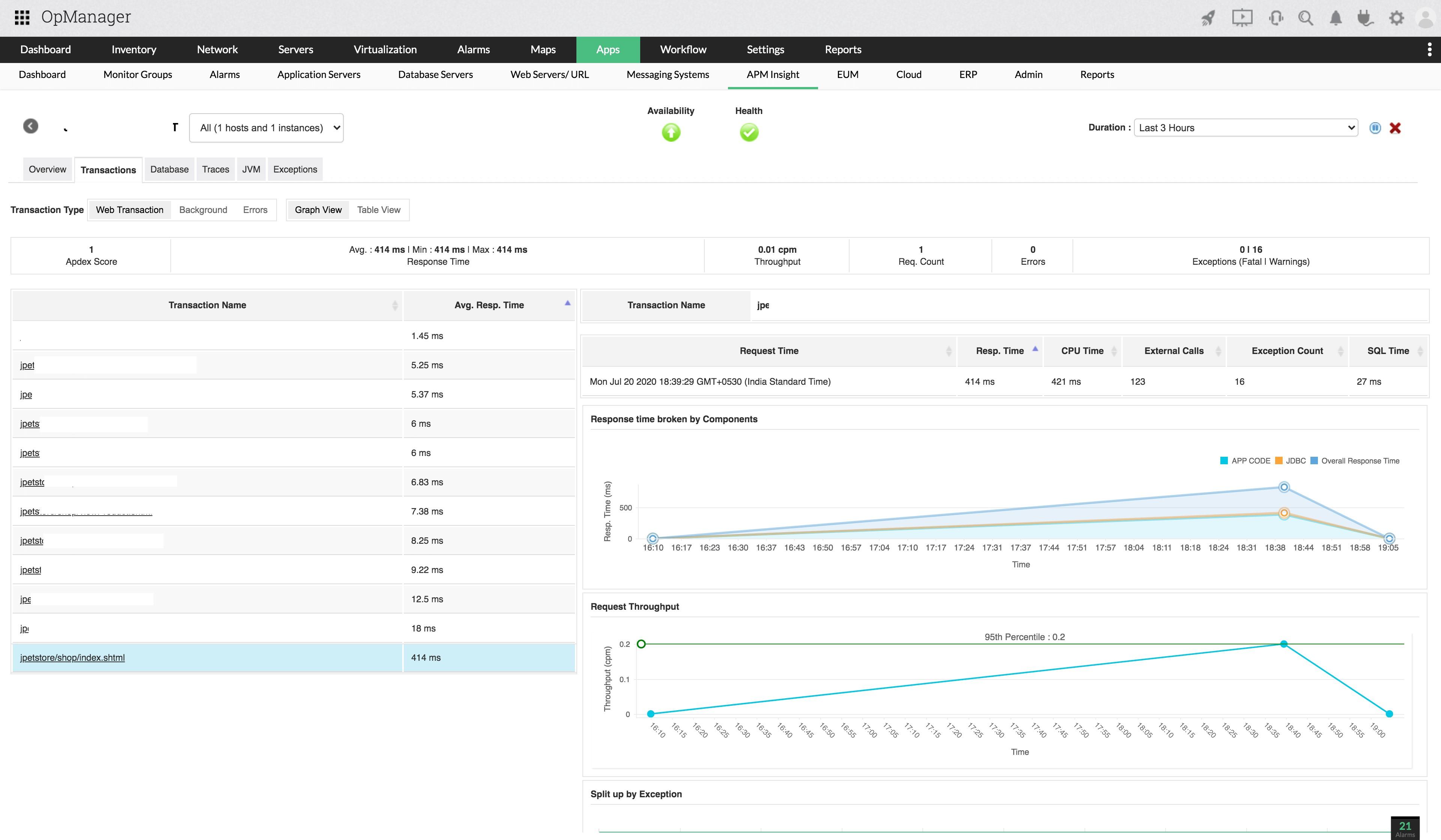 Identify performance bottlenecks easily