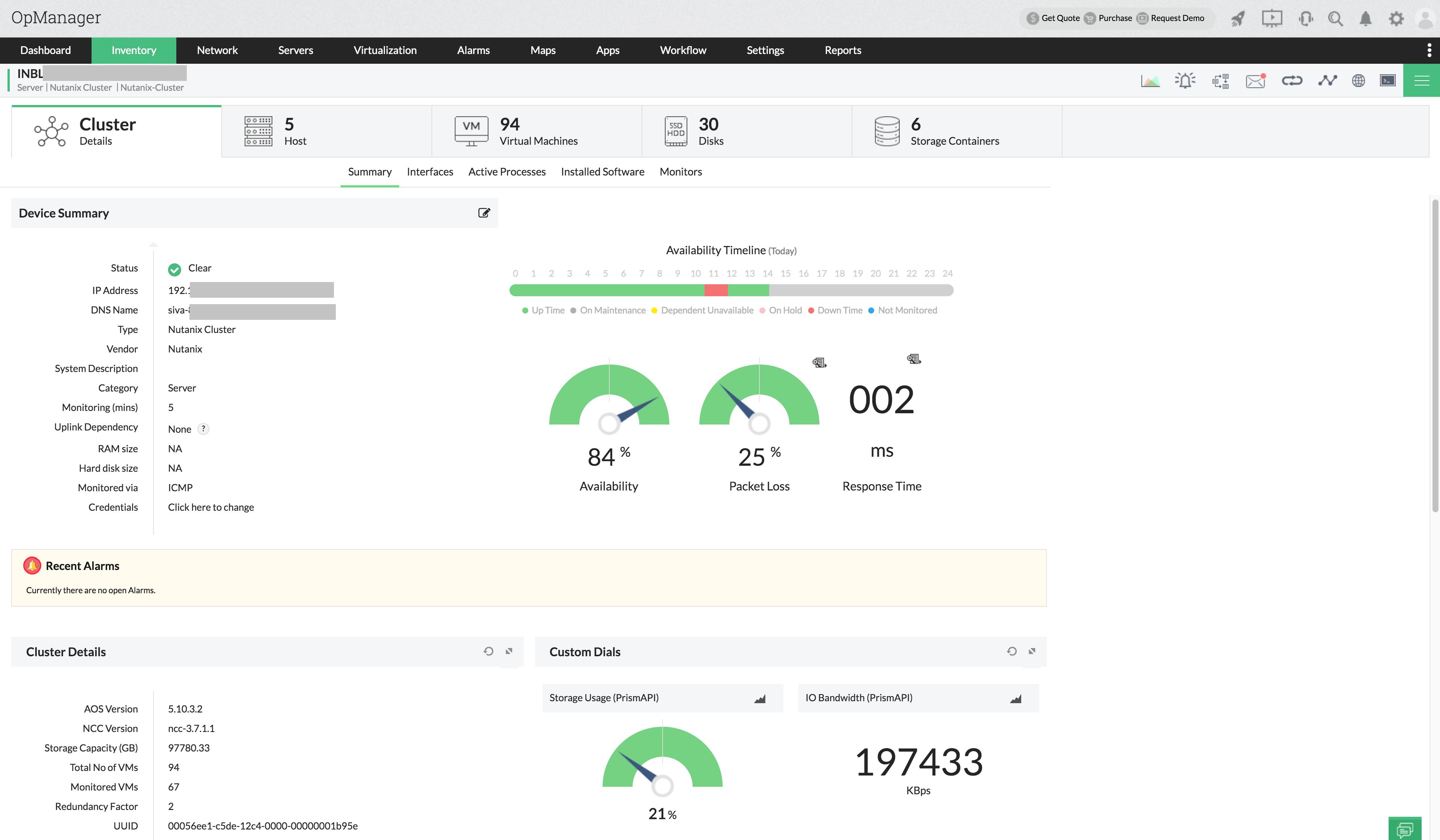 Enterprise Network Monitoring Tool - ManageEngine OpManager