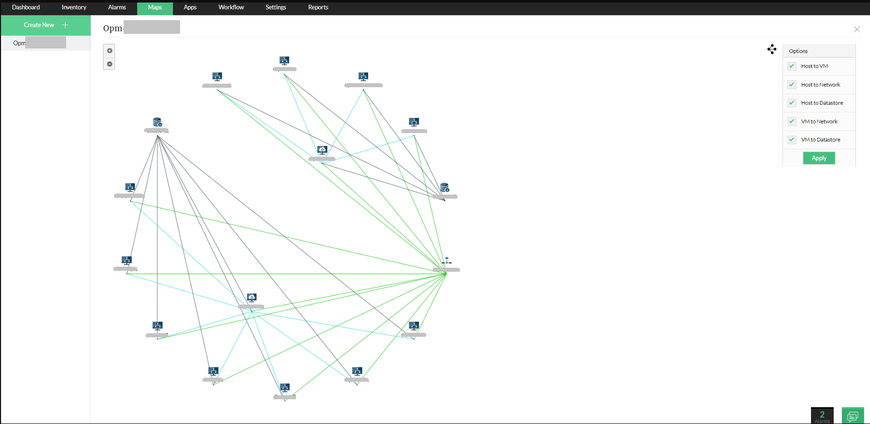 Virtual Network Monitoring - ManageEngine OpManager