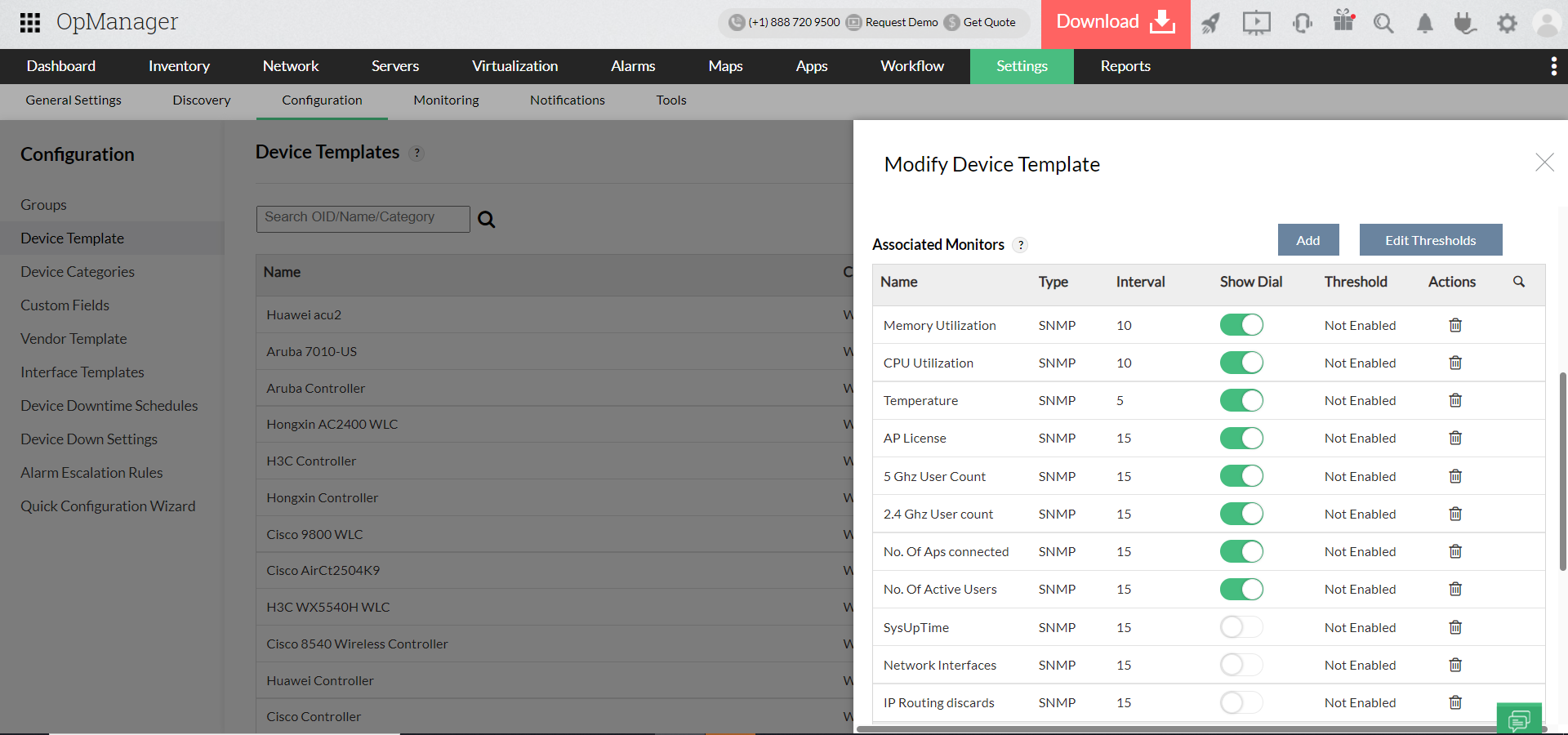 Wi-Fi Monitoring Software - ManageEngine OpManager