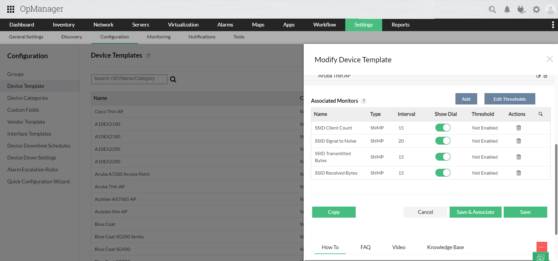 Wireless Monitoring Tools - ManageEngine OpManager