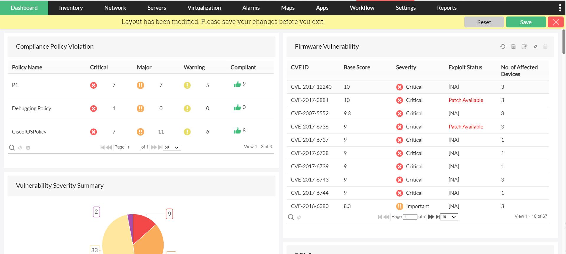 Advanced configuration management with NCM Module