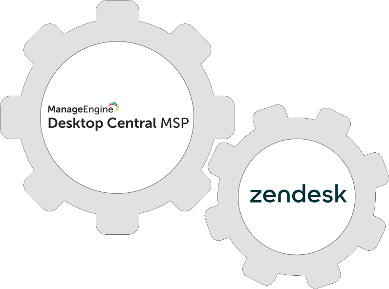 Integrate Desktop Central with Zendesk to start delivering enterprise-class customer support.