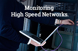 Monitoring High Speed Networks.