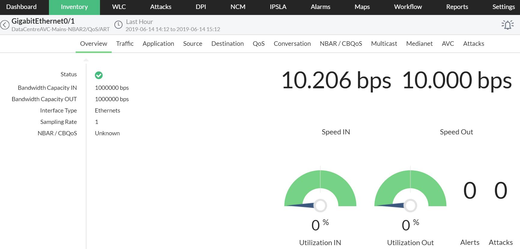 Advanced Network Traffic Analysis - ManageEngine NetFlow Analyzer