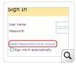 Self service password SharePoint