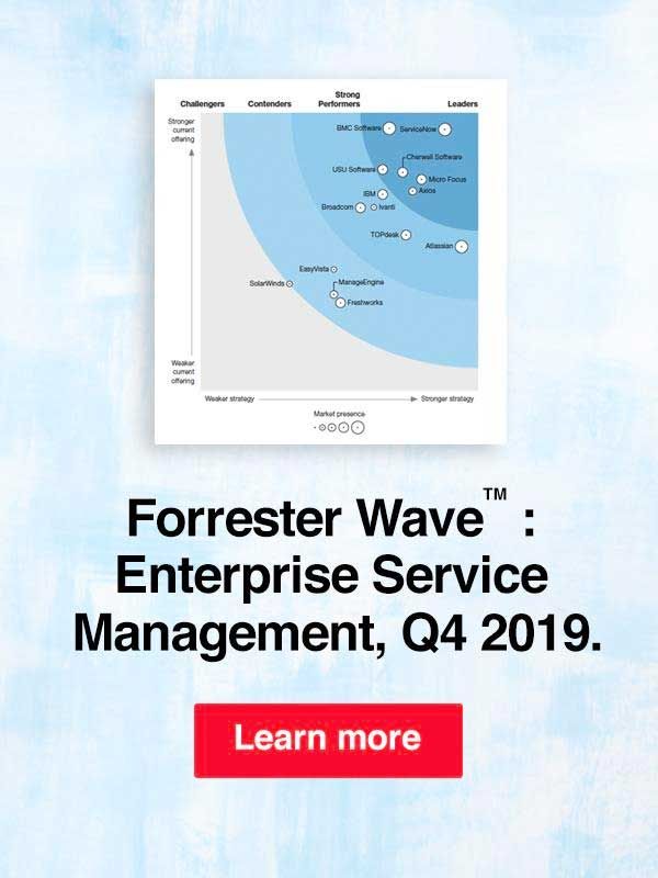 Forrester ESM wave 2019