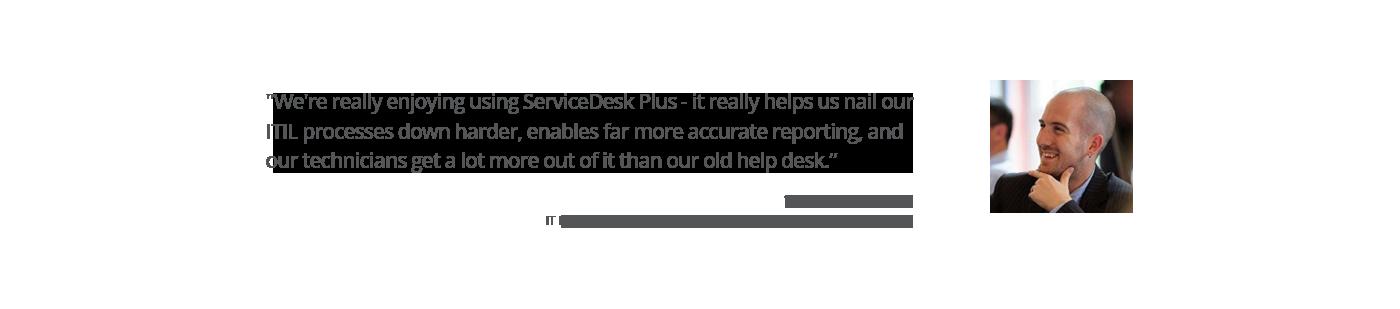 ServiceDesk Plus Customer