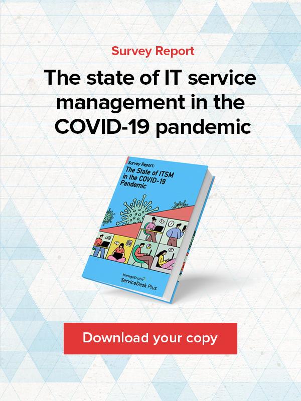 ITSM pandemic survey