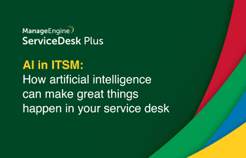 AI in ITSM service desk