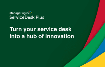 IT service desk innovation